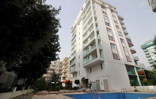 Недорогая новая квартира в Махмутларе с одной спальней