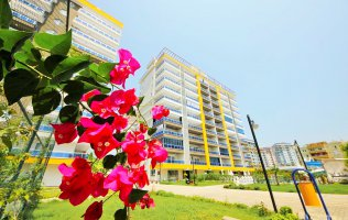 Новая квартира 2+1 в Аланье, р-н Махмутлар, жилой комплекс высокого комфорта
