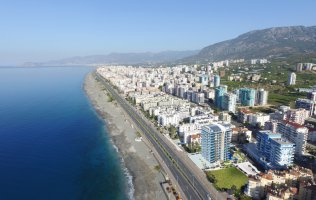 New luxurious off-plan project in Alanya at the seaside