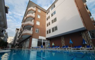 Furnished one-bedroom apartment in Alanya/Oba