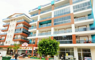 New furnished apartments in Alanya, Cleopatra Beach