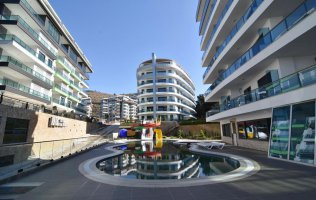 Luxury apartments 1+1, 2+1  in Alanya / Kargicak