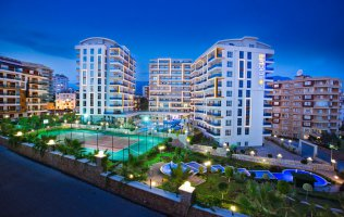 2+1 apartment in Alanya, with a separate kitchen, in a luxury complex