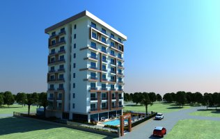 New project under construction in Alanya / Mahmutlar, apartment 1+1 in installments