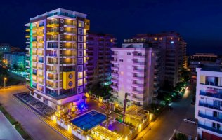Новые современные апартаменты 1+1 в Махмутларе, Аланья