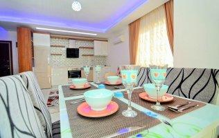 Просторные меблированные апартаменты 1+1 в Махмутларе, Аланья