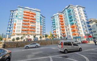 Новые трехкомнатные апартаменты 2+1 р. Тосмур, Аланья