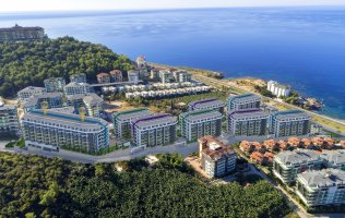 Your dream next to the sea shore in Alanya Kargicak