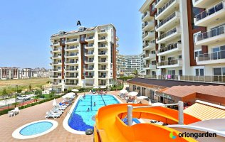 Apartment for sale in Orion Garden / Orion residential complex 4 Avsallar Alanya