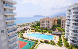 Exclusive apartment in Alanya with the view of which everyone dreams