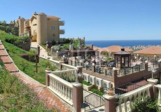 Two-bedroom apartment villa 2 + 1 in the luxury complex Gold City, Alanya - 11