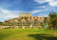 Two-bedroom apartment villa 2 + 1 in the luxury complex Gold City, Alanya - 2