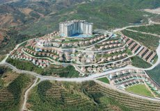 Two-bedroom apartment villa 2 + 1 in the luxury complex Gold City, Alanya - 3