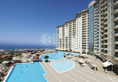 Two-bedroom apartment villa 2 + 1 in the luxury complex Gold City, Alanya - 15