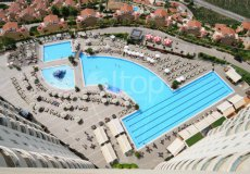 Two-bedroom apartment villa 2 + 1 in the luxury complex Gold City, Alanya - 18