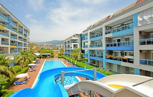 Modern complex with an interesting infrastructure in Kestel, Alanya