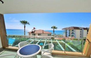 Apartment with panoramic sea view in Kargicak