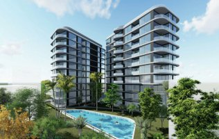 New investment project in the heart of Alanya from a famous developer