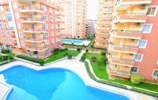 Amazing two-bedroom apartment fully furnitured on the coastline in Mahmutlar