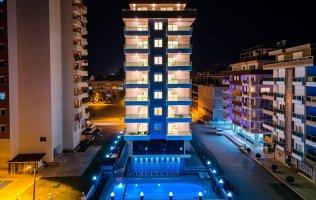 Modern residential complex in the center of Mahmutlar