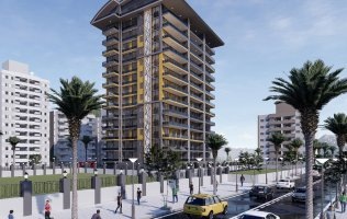 Luxury investment project in Alanya, Mahmutlar