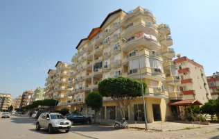 Furnished apartment 2 + 1 on the Mediterranean coast !!!