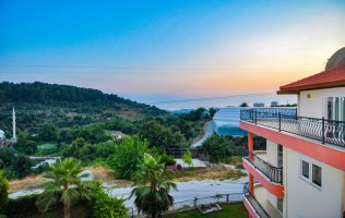 Apartment with two bedrooms in Alanya, Mahmutlar