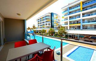 Rent an apartment in a luxury complex in Kestel