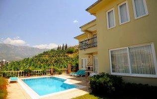 Вилла в Аланье с частным бассейном по доступной цене