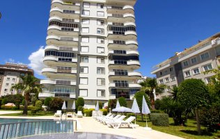 Furnished 2+1 apartment  in Cikcilli, Alanya