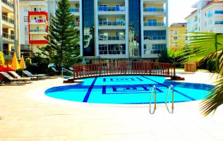 Apartment in Kestel 200 m from the beach