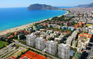 Luxury residence in the center of Alanya just in 150 m to the beach