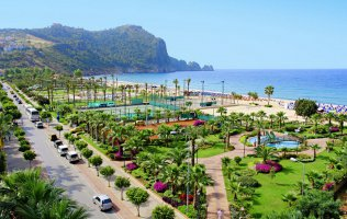 3 star hotel in Alanya on the first coastline