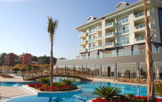Furnished one bedroom apartment in Cikcilli district in Alanya