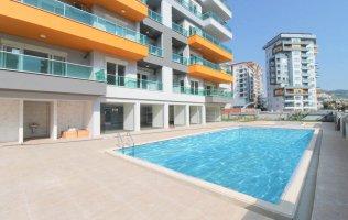 Inexpensive new apartment in Mahmutlar, Alanya
