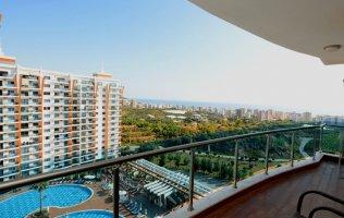 Аренда квартиры 1+1 в роскошном элитном комплексе Azura Park р-н. Махмутлар в Алании