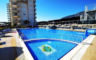 Advantageous offer of an apartment in Mahmutlar, Alanya