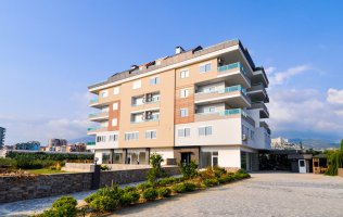 1+1 apartment  with a picturesque view of the mountains in Kargicak