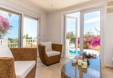 Furnished villa with sea view in Cikcilli, Alanya - 11