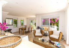 Furnished villa with sea view in Cikcilli, Alanya - 10