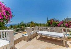Furnished villa with sea view in Cikcilli, Alanya - 16