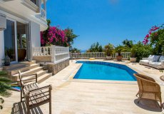 Furnished villa with sea view in Cikcilli, Alanya - 2