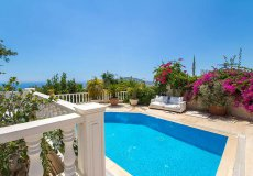 Furnished villa with sea view in Cikcilli, Alanya - 4