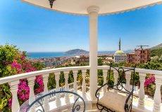 Furnished villa with sea view in Cikcilli, Alanya - 20