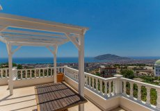 Furnished villa with sea view in Cikcilli, Alanya - 18
