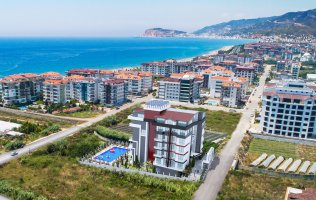 New investment project ,150 meters from the sea in Kestel, Alanya