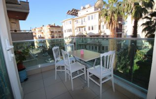 Furnished apartment in the center of Alanya at an affordable price