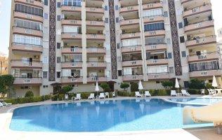 Furnished apartment in Alanya, Mahmutlar with sea view