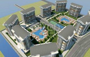 Новый комплекс в Алании концепции отеля 5* в Авсалларе