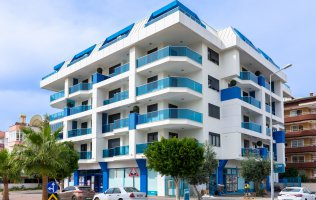 Новые квартиры 1+1 в Алании в резиденции район Оба